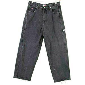 Tommy Hilfiger Big Flag Box Logo Jeans Black 34x30